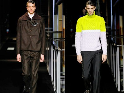 Suite and knits by Kenzo Fall Winter 2014