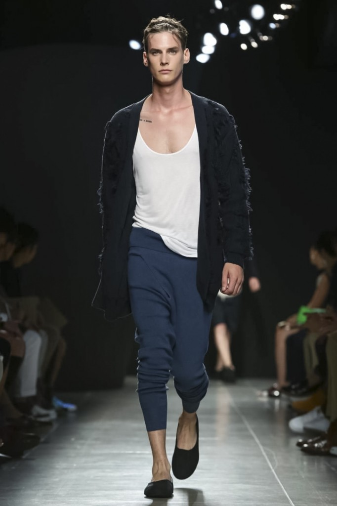The Bottega Veneta man for next summer is at ease Bottega Veneta | All photos: courtesy of nowfashion.com