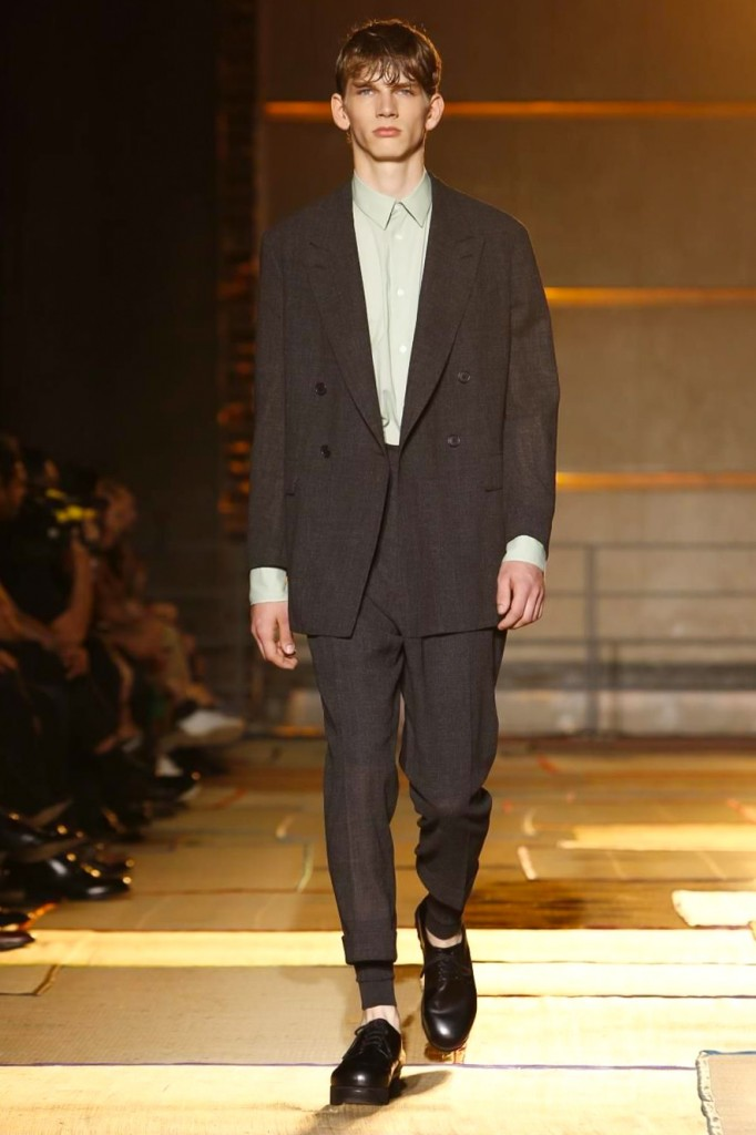 Except for the long johns, this is a likely look, Cerruti 1881