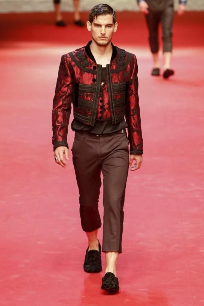 From Sicily to bullfighting Spain, Dolce & Gabbana