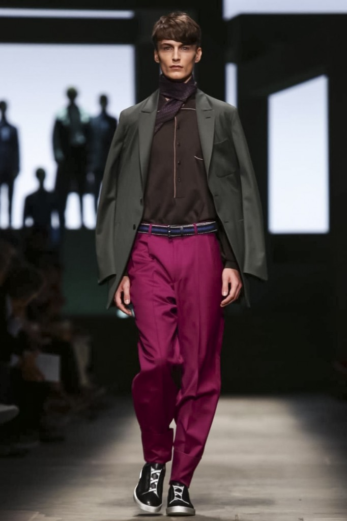 Pilati is not only a master tailor but also colorist, Ermenegildo Zegna Couture