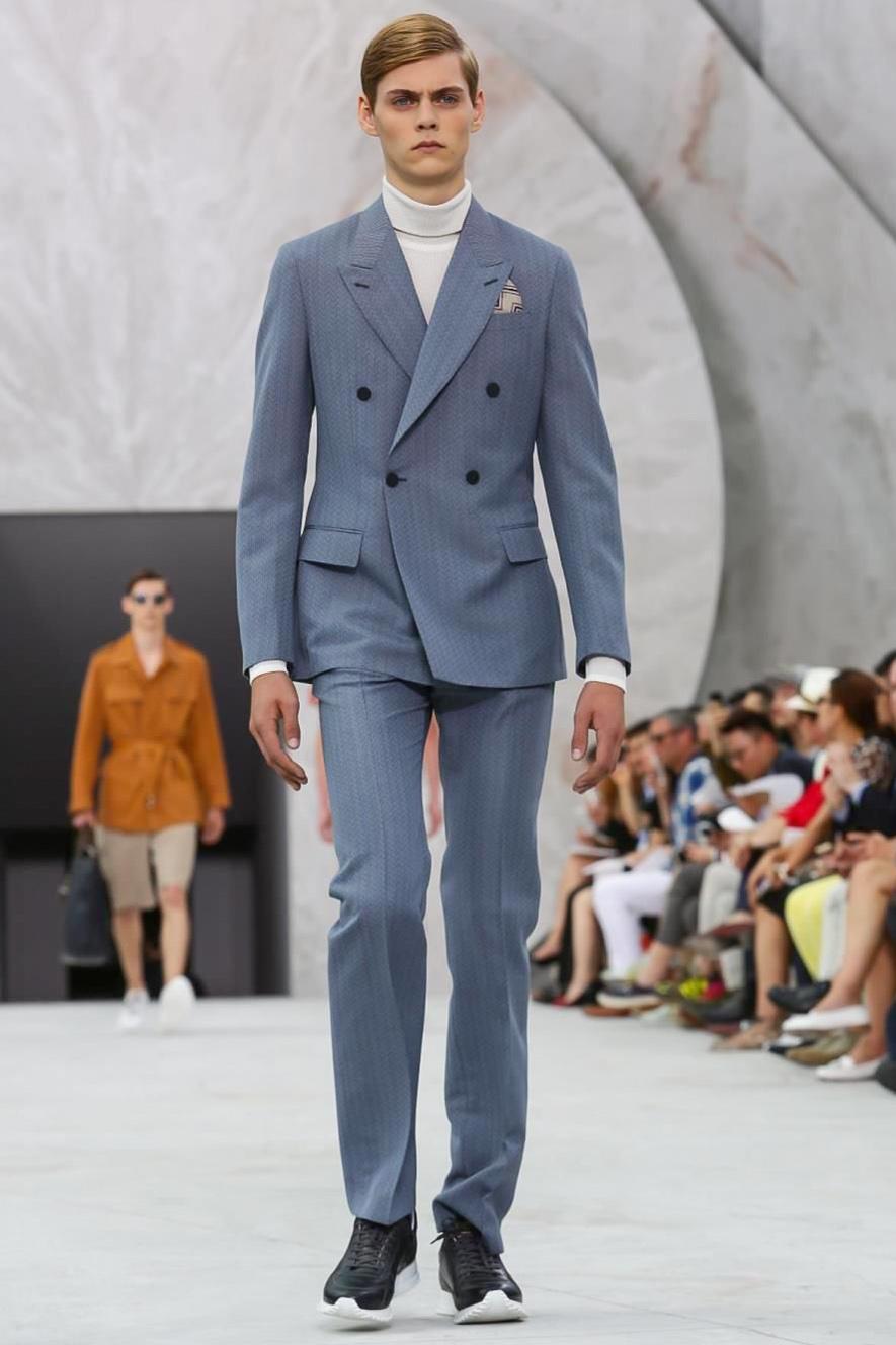 louis vuitton mens suits. cool sneakers give retro suits a contemporary twist louis vuitton mens