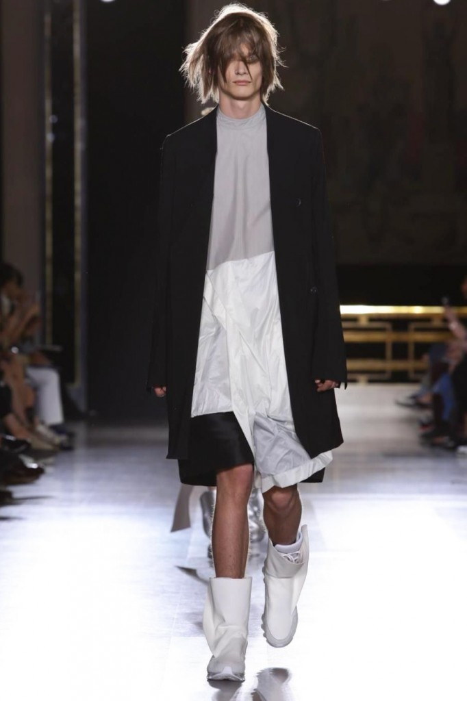 Gender-bending business dress, Rick Owens