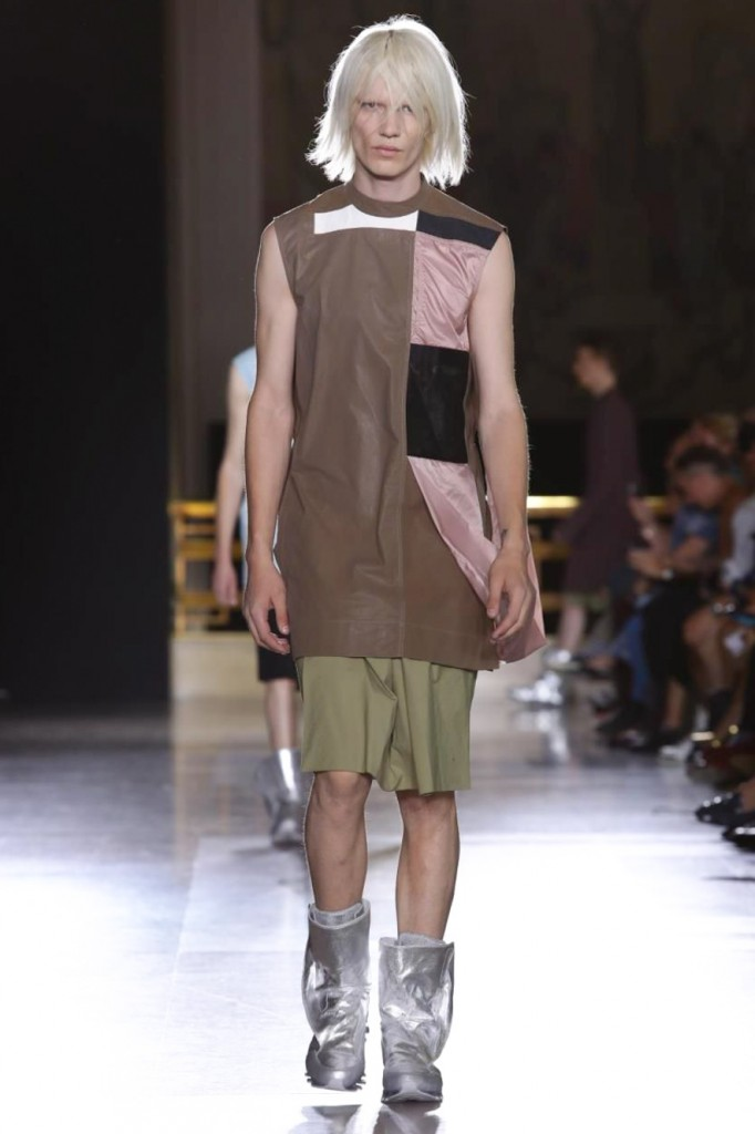 Look, it's a color: even Owens knows how to add some springlike mood, Rick Owens