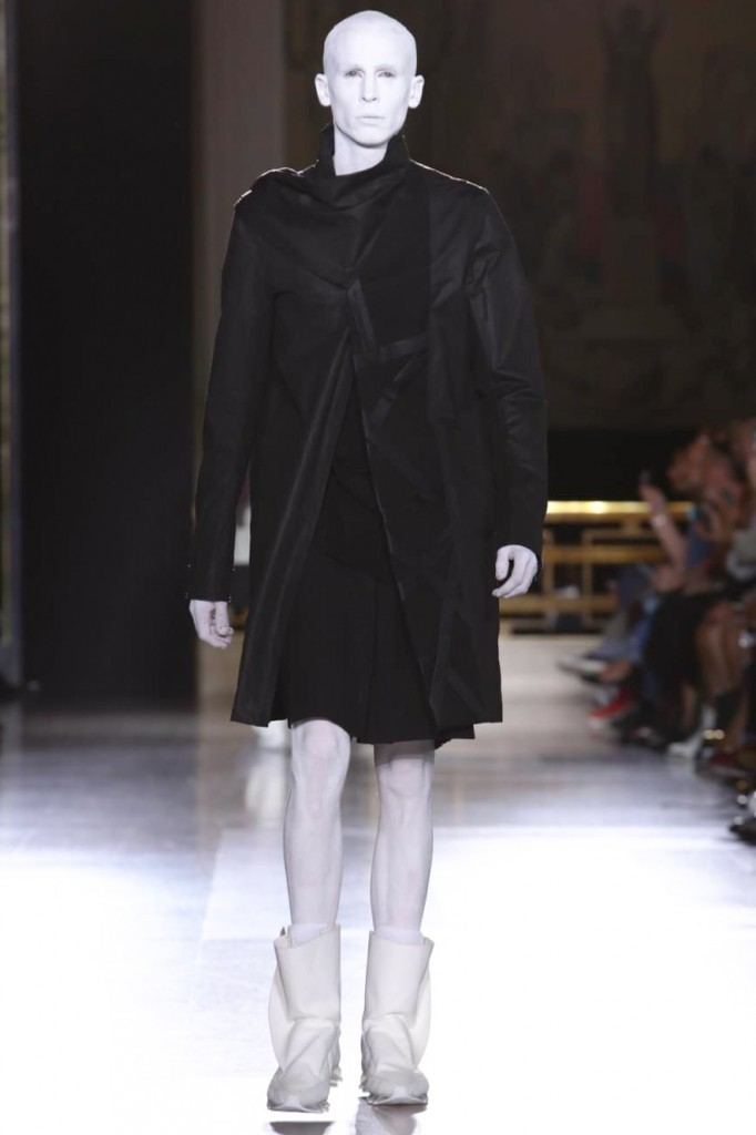 Owens knows how to create powerful images, Rick Owens