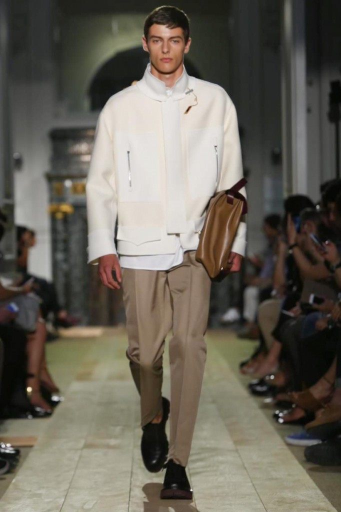 Very smart! Using the Haute Couture ateliers for a sportswear look at Valentino