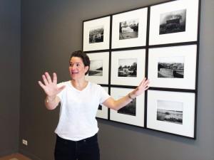 Kirsten Hermann in ihrer Galerie für Moderne Fotografie | Foto: Barbara Russ