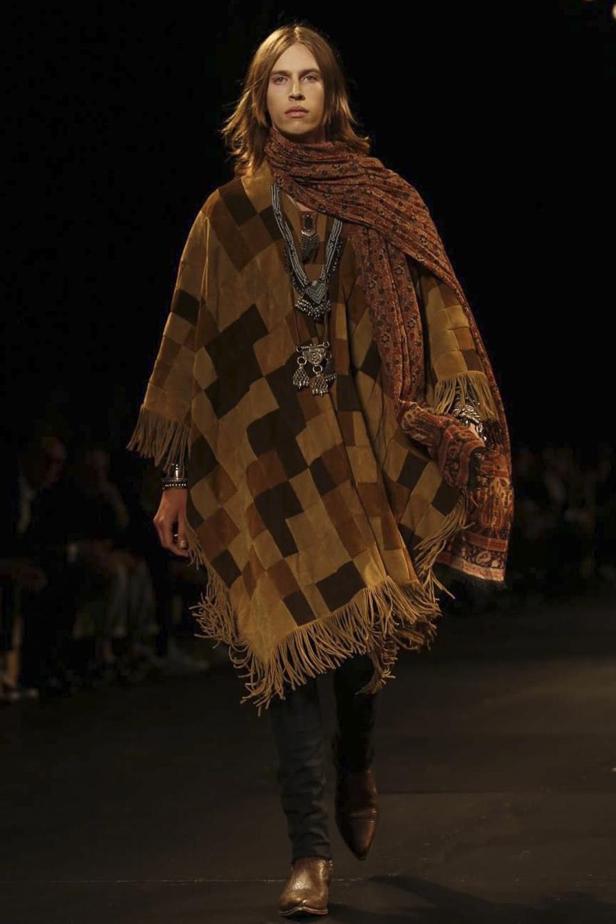 Psych Rock Fashion at Saint Laurent Paris
