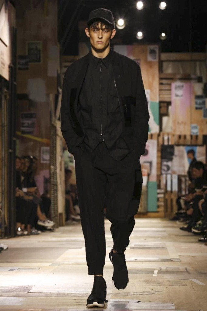 All black is Yamamoto's all-time favourite
