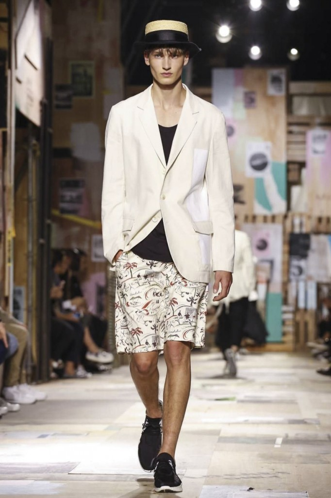 Dapper fellows look good in delicate shorts featuring Japanese draftsmanship