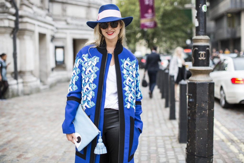 London Fashionweek SS2015, LFW, day 3, Elisabeth von Turn und Taxis