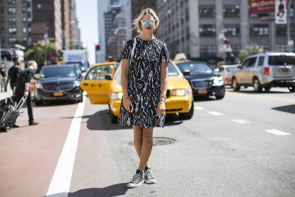 After Michael Kors on Tribeca streets