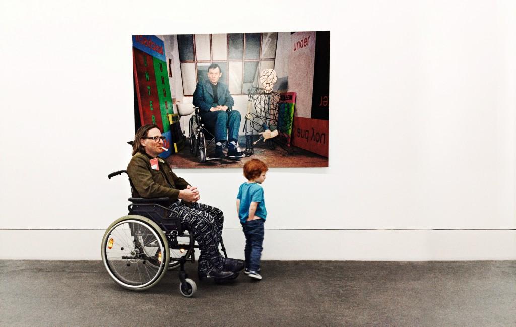 Selbstporträt: Am Arsch, Herr Kippenberger (2013)