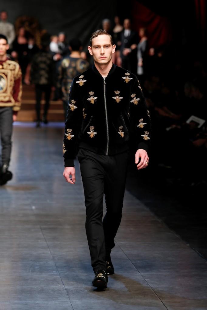 Dolce&Gabbana men shiw FW 2015-16 (6) Dolce & Gabbana