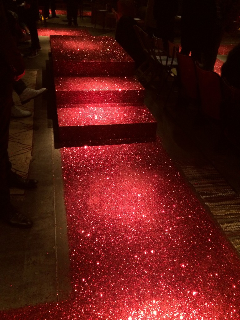 The red-sequined runway Givenchy