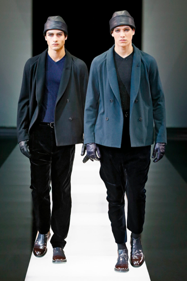 Alpine lords by Mr. Armani Giorgio Armani F/W 2015