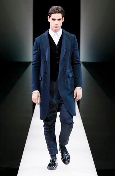 Pants low in the crotch Giorgio Armani F/W 2015