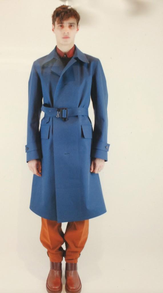 What a color, what a coat Jil Sander