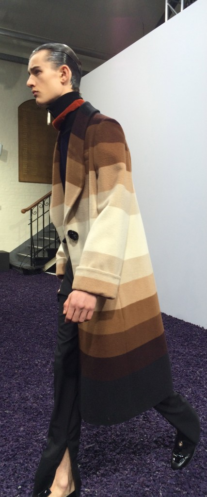 Statement coats on gradations of camel