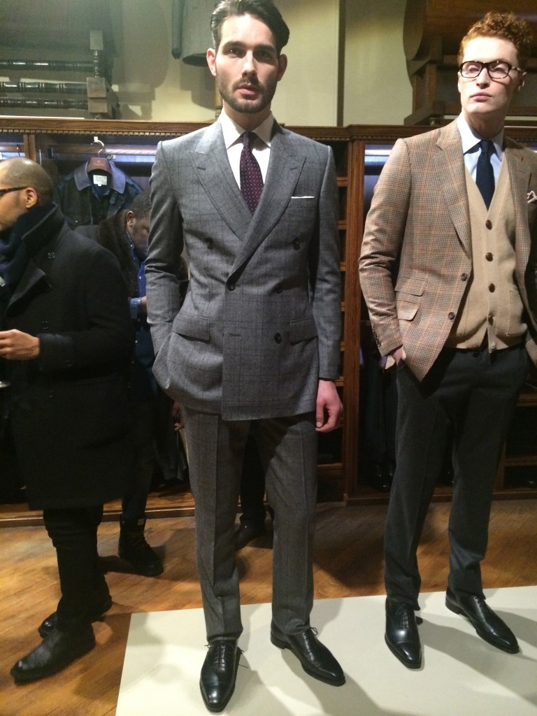 Double-breasted fare from Savile Row for Kingsman
