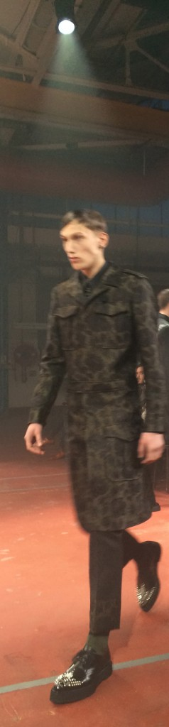 Military mood at McQueen, Alexander McQueen
