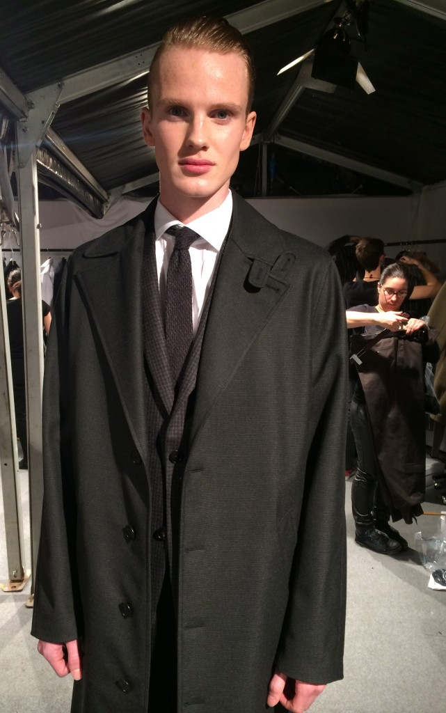 This look sums up Pilati's work at Zegna: It's fashion and it's sartorial