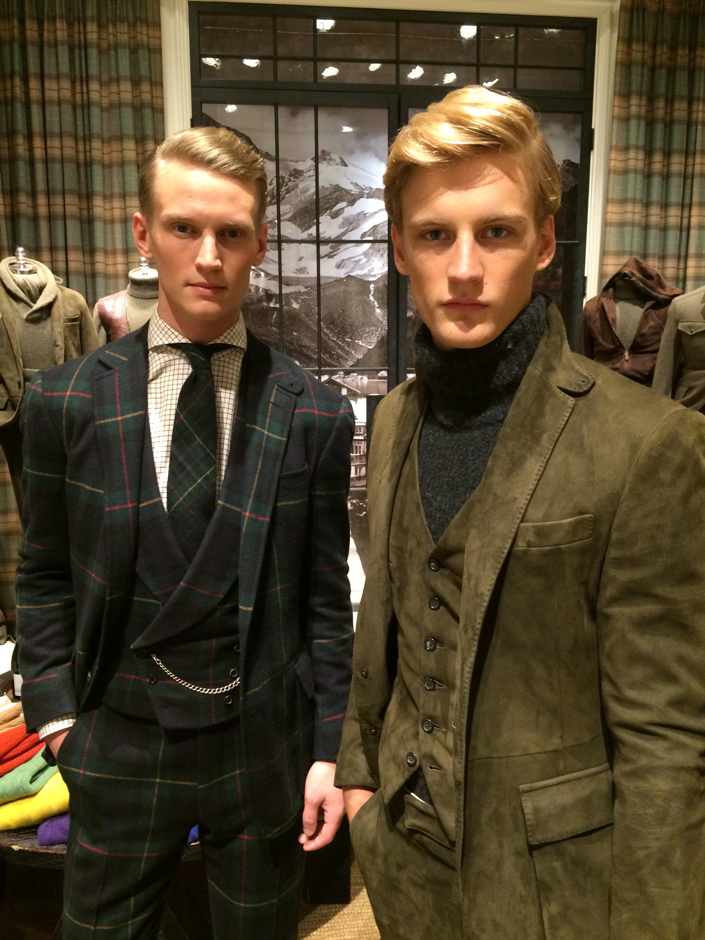 Ralph Lauren Purple Label And Polo F W 2015