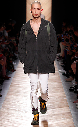 Now that Maier spends more time in Maine then Florida, he likes a hike Bottega Veneta