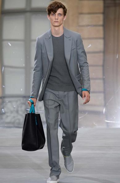 Concrete grey and master tailoring Berluti