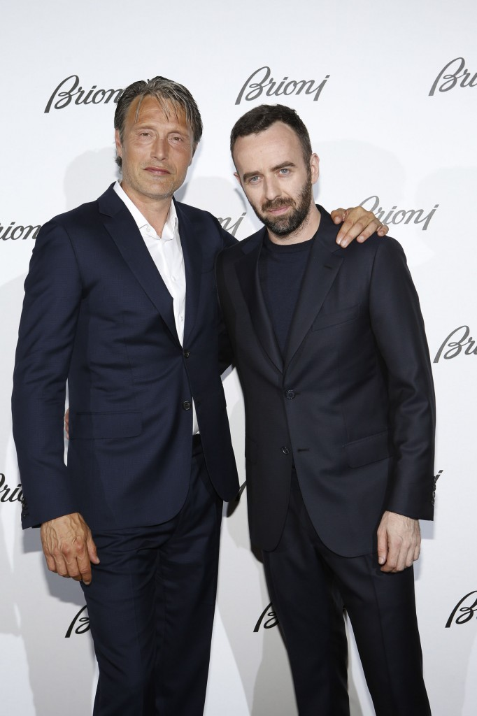 Mads and Brendan at Brioni