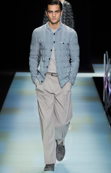 Beautiful summer knit jacket Giorgio Armani