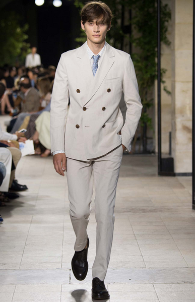 Hermes also makes wonderful suits Hermès