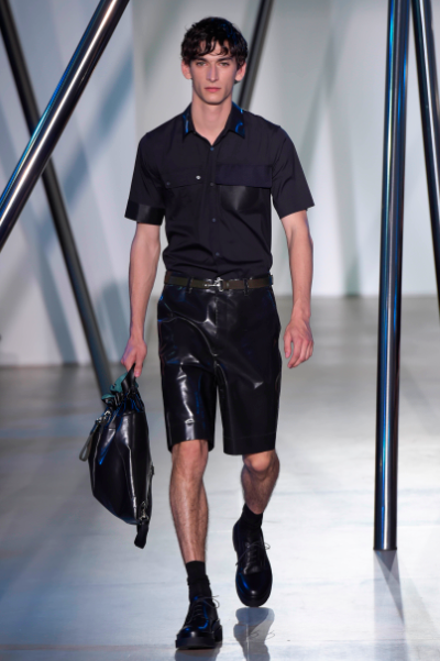 Lavish use of rubber is not so cool in summer Jil Sander