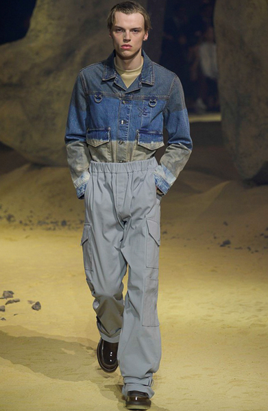 Cool take on denim Kenzo