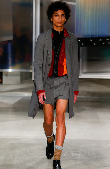 Stellar casting and featherweight coat Prada