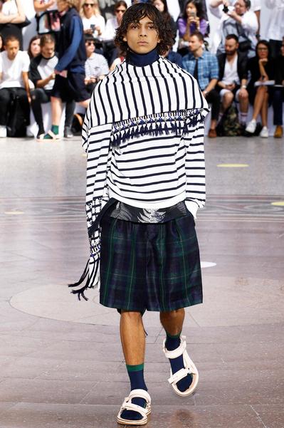 This is fresh fashion Sacai