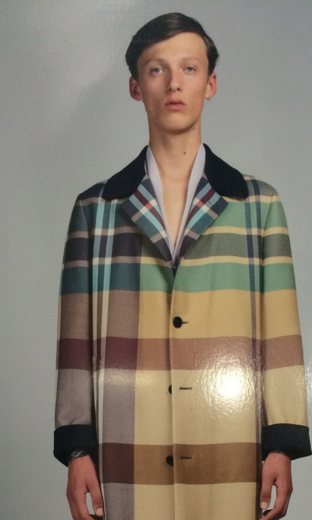 Dry-wool Madras, sophistication with a difference at Zegna Couture Ermenegildo Zegna