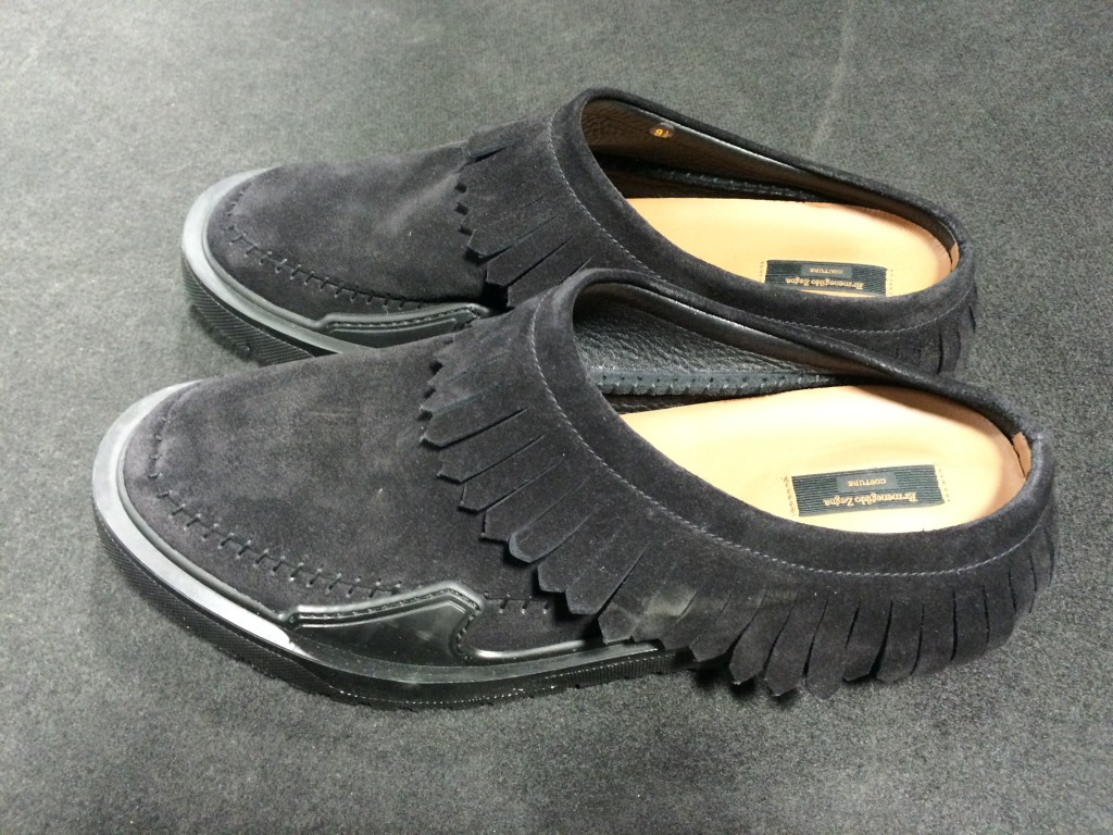 Always original on footwear, Pilati's Navajo sandal Ermenegildo Zegna