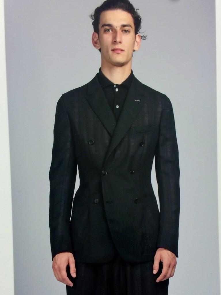 Zegna Couture master tailoring in black Ermenegildo Zegna