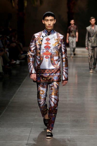 Pagoda tailoring Dolce & Gabbana