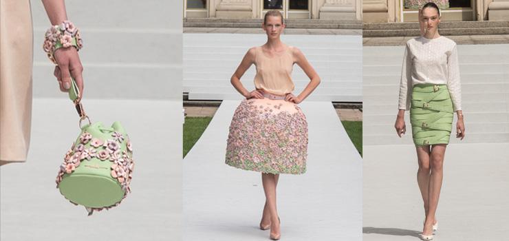 Gut verkäufliche Handtaschen, skulpturale Showpieces und ein salonfähiger Lederstriemenrock: Marina Hoermanseder S/S16