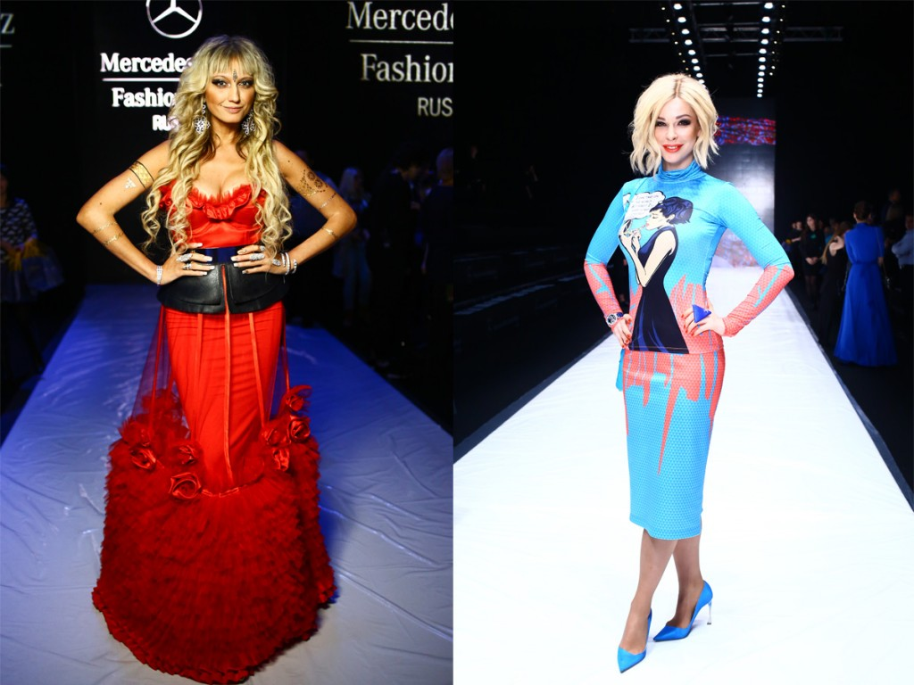 Gäste der Mercedes Benz Fashion Week Russia | Foto: MBFWR
