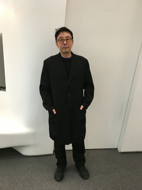 The man himself: In Yamamoto and D.Gnaak. Seoul Fashion week