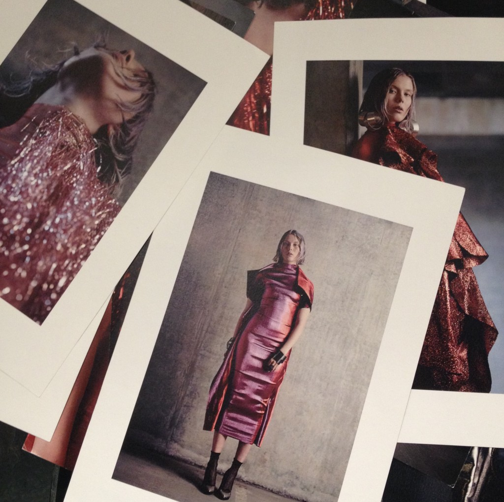 Pages from Paula Knorr's beautiful lookbook