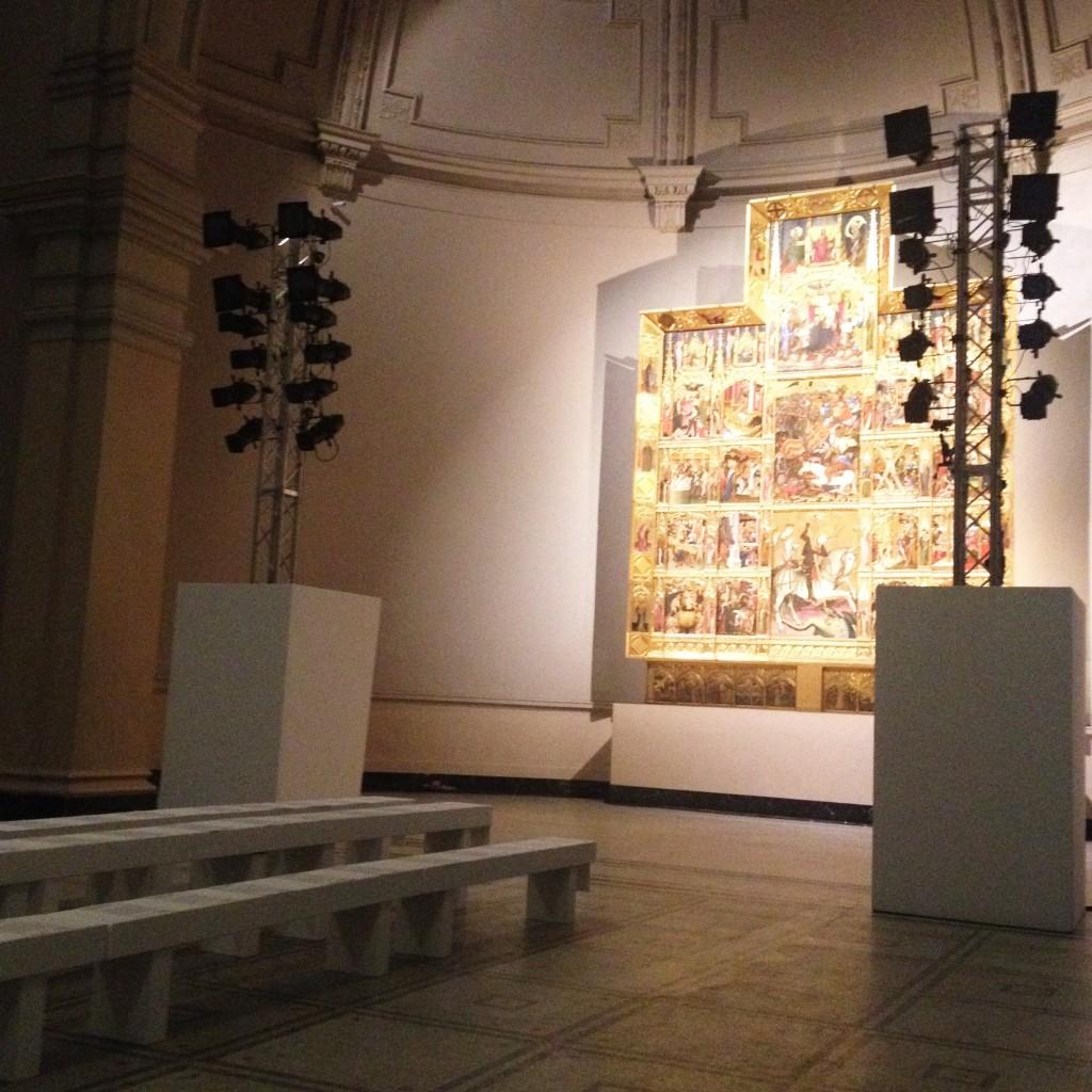 Die Location: Der Raffael-Saal im Victoria & Albert Museum. Peter Pilotto