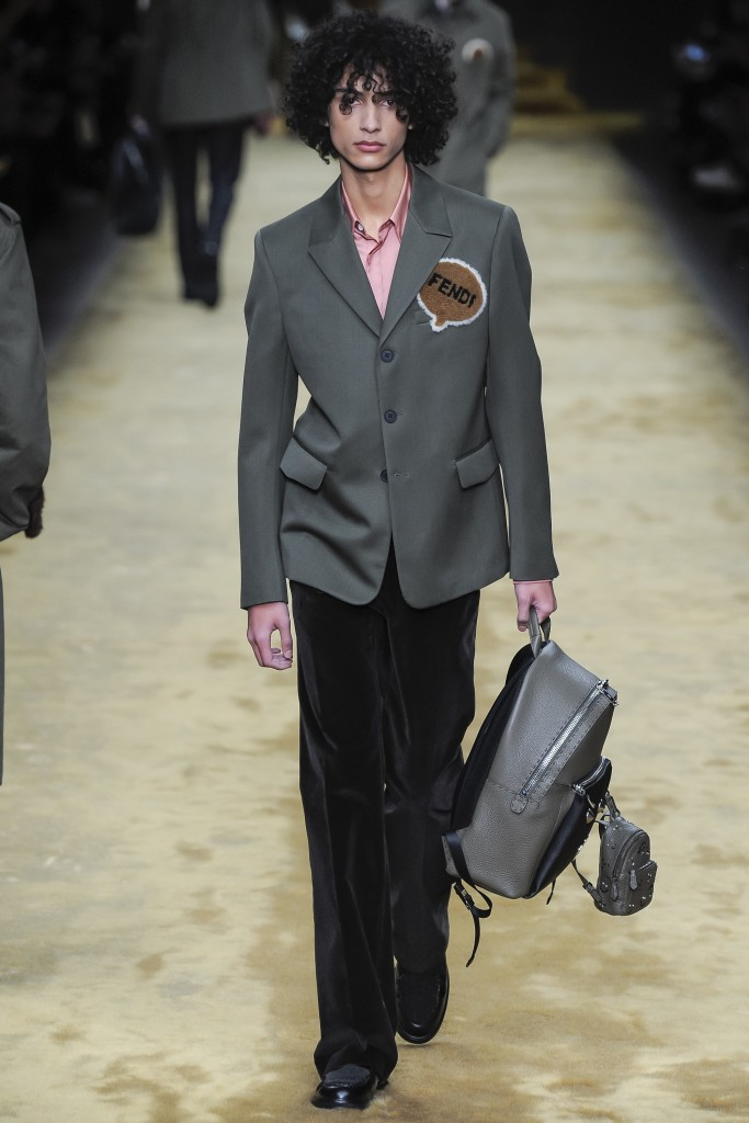 Fendi patches are everywhere Fendi