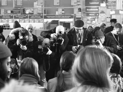 Viele Fotografen, viele gleiche Bilder. Manchmal ist es doch besser, von der anderen Seite zu schauen