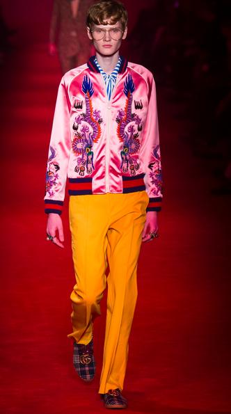 Michele is fashion's new colorist Gucci