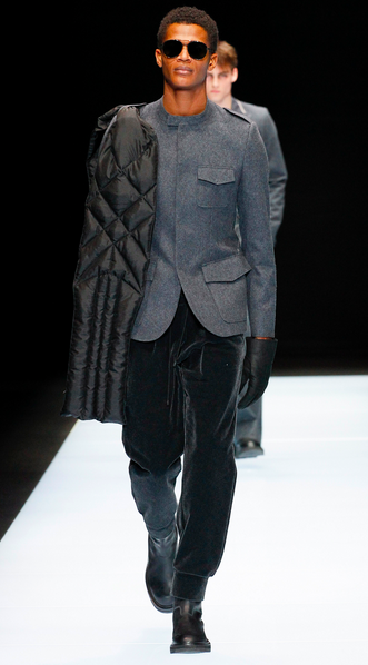 Ethnic casting has always been Armani's idea of fashion Emporio Armani