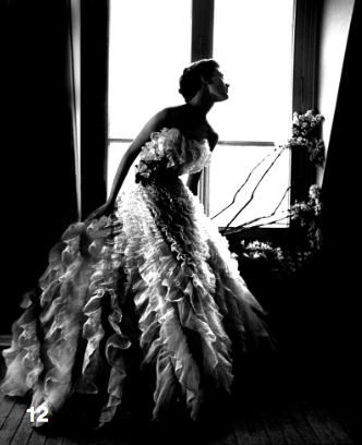 Lillian Bassman, Fantasy on the Dance Floor, Barbara Mullen, dress by Christian Dior Paris, 1949, © Estate of Lillian Bassman